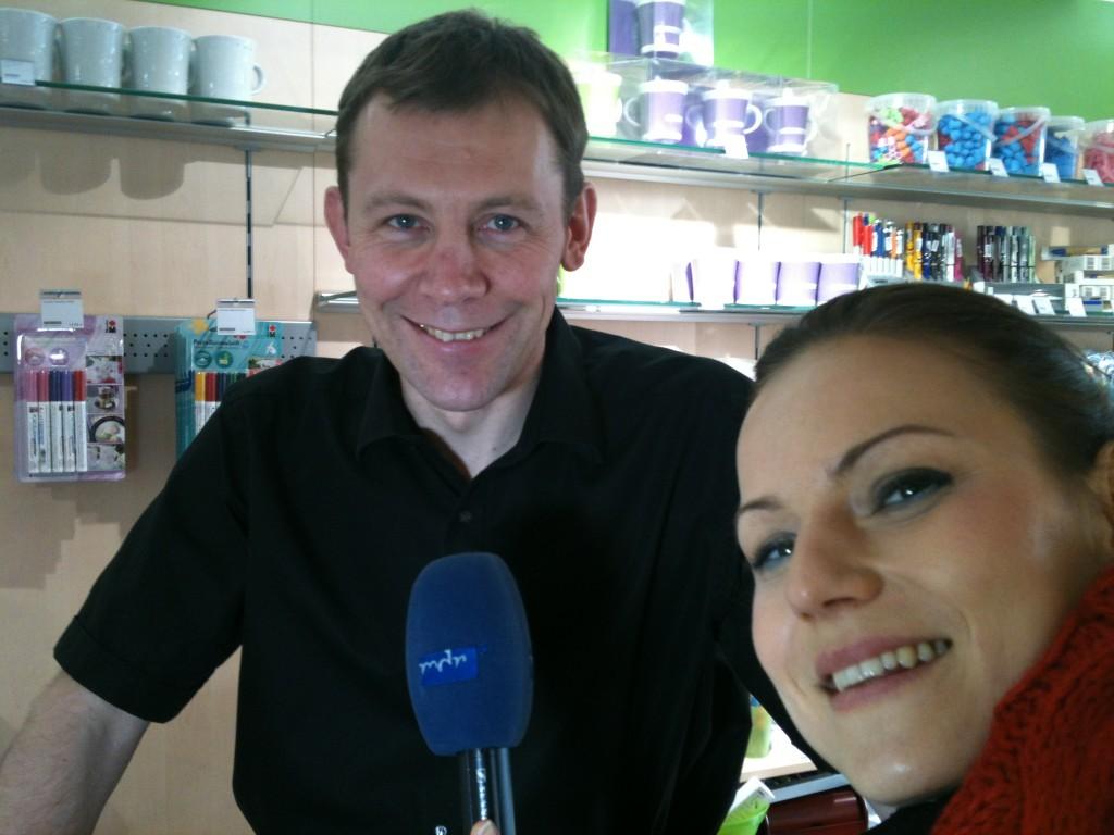 Interview mit dem mdr 2012