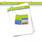 Neues Design – Briefpapier, Visitenkarten und Paketklebeband