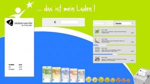 Kassensystem - Startbildschirm