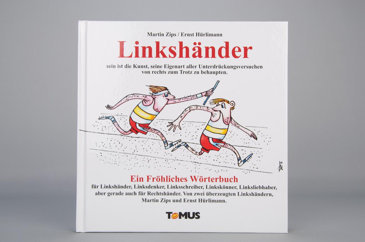 Das fröhliche Wörterbuch - ein nettes Geschenk für einen Linkshänder im Wert von 10,80 EUR.