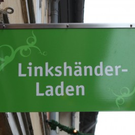 Linkshänder-Laden in 3D bei Google Maps
