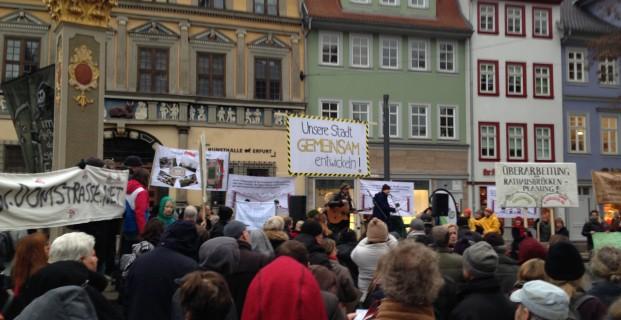 Wir demonstrieren!