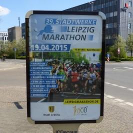 Linkshänder-Laden beim 39. Stadtwerke Leipzig Marathon