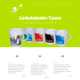 Linkshänder & Co Homepage